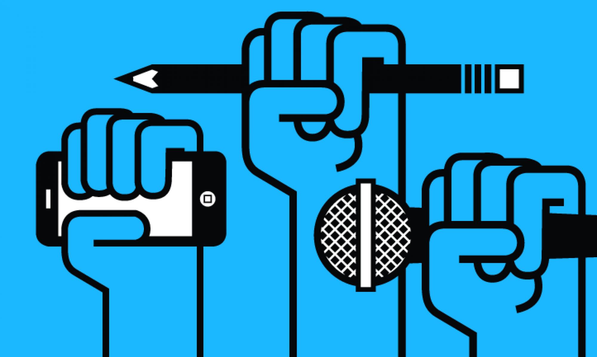 Клъстер за свободно слово, медии и журналистика
